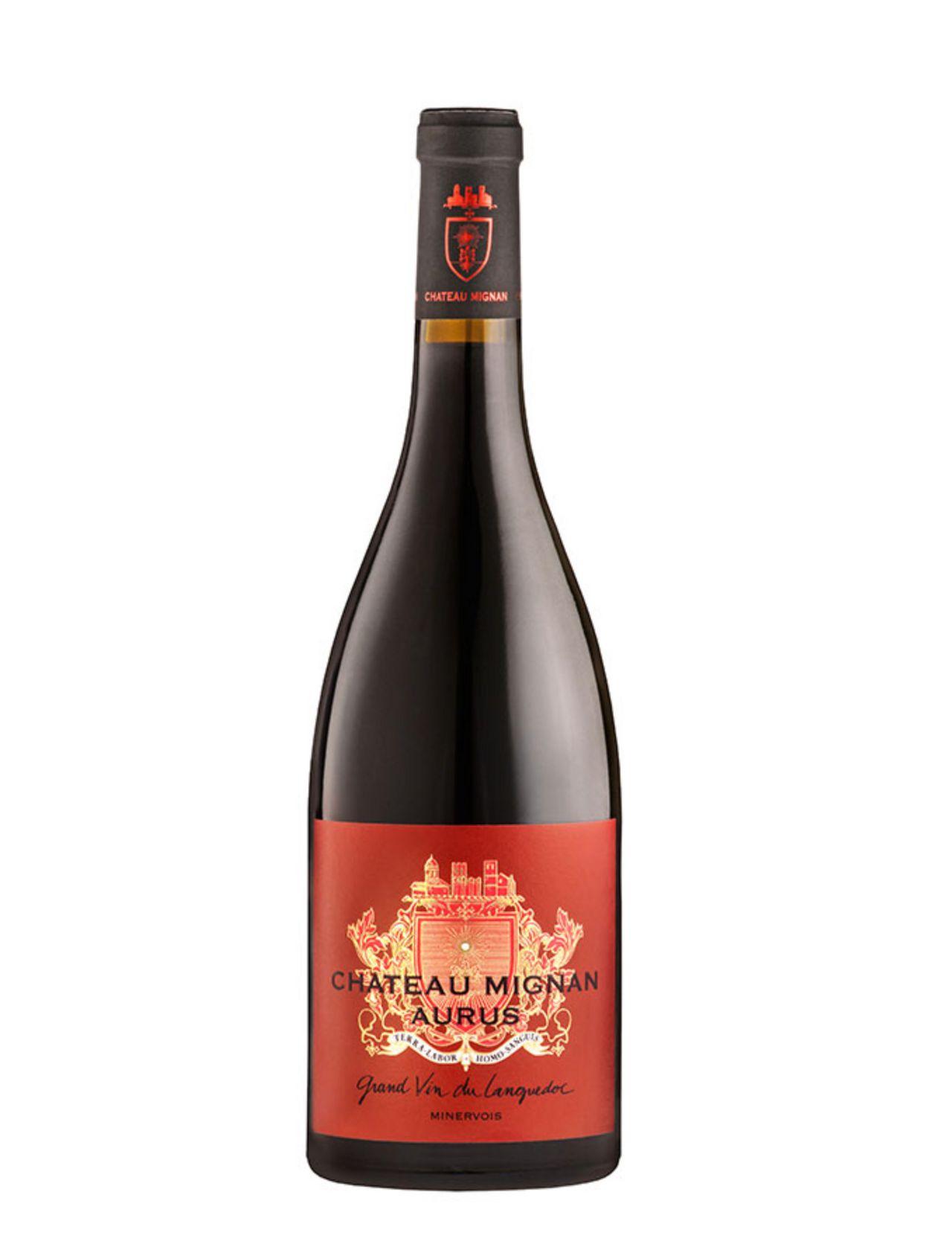 Cuvée Aurus 2015 - AOC Minervois, Culture Biologique, Rouge