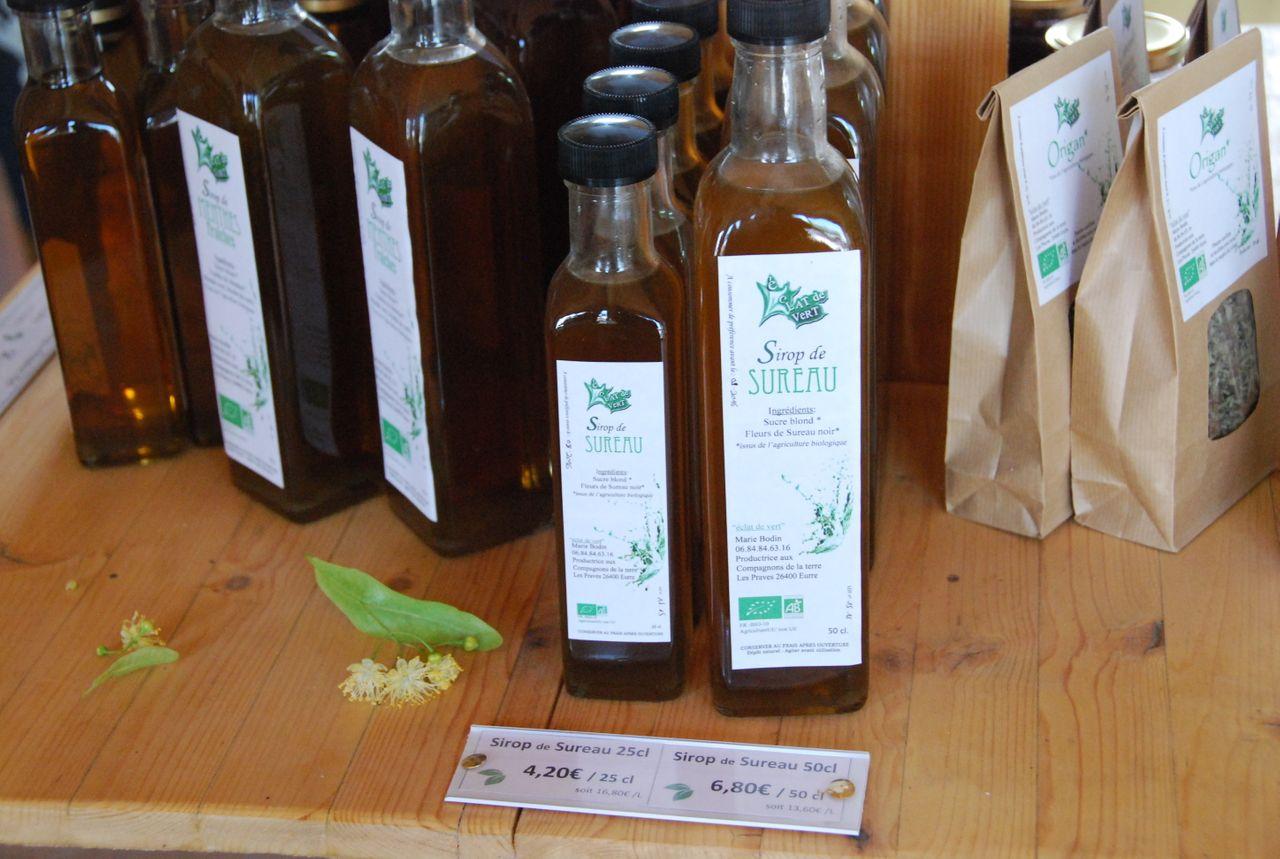 produits transformés de plantes aromatiques et médicinales