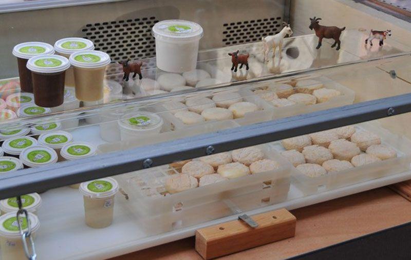 Fromages frais et affinés, yaourts et terrines
