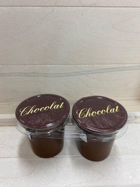 Crème dessert chocolat par 2x125gr