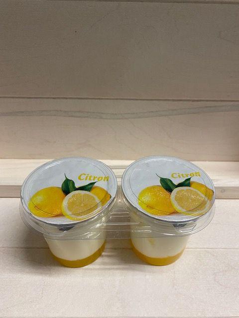 Yaourt brassé sur lit de citron par 2x125gr