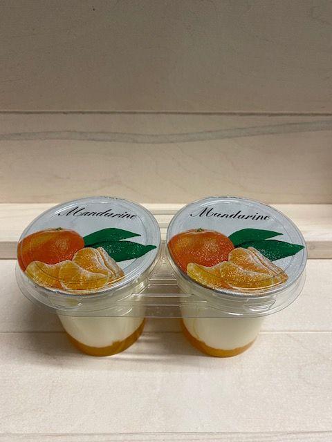 Yaourt brassé sur lit de mandarine par 2x125gr