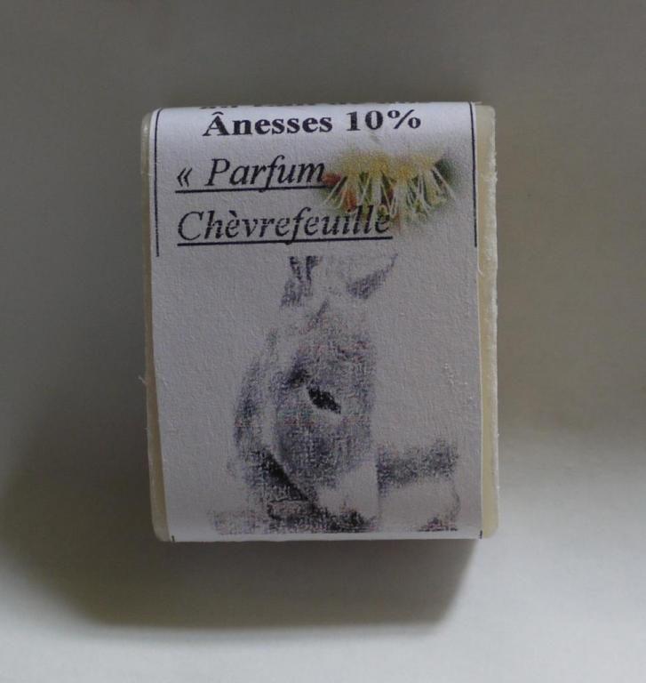 Savon au lait d'ânesse (Chévrefeuille) - 25g