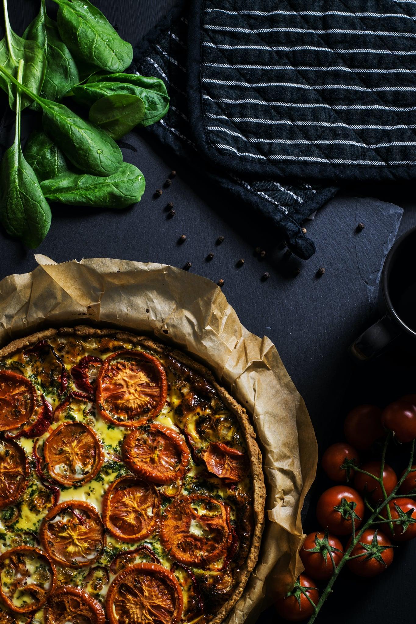 Recette de tarte fine a la tomate ?